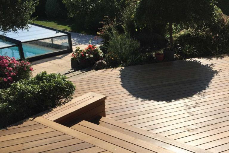 Terrasse en bois haut de gamme